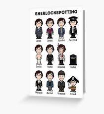 Sherlockspotting Greeting Card