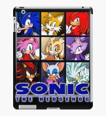 Sonic characters wallpaper [Photoshop] iPad Case/Skin