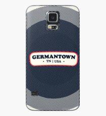 Germantown   Retro Badge Case/Skin for Samsung Galaxy