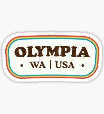 Olympia | Retro Abzeichen Sticker