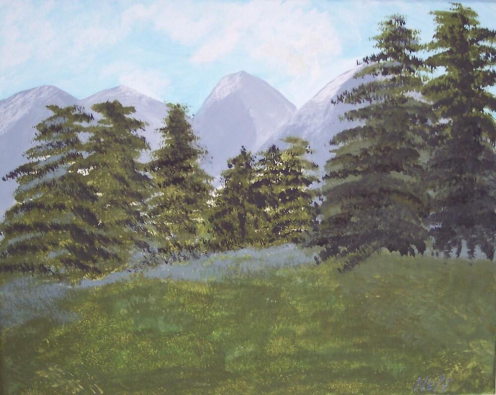 MISTY MOUNTAIN by phyllis Neff Garrett