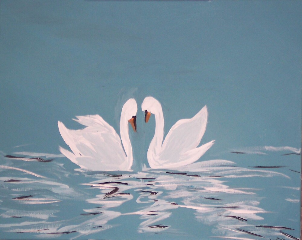SWAN LOVE by phyllis Neff Garrett