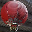 Old chinese lantern by bwchan