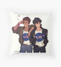 nasa boys Throw Pillow