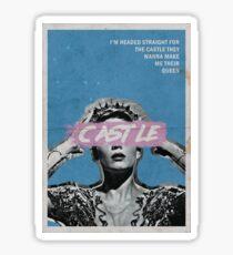 Halsey Castle Sticker