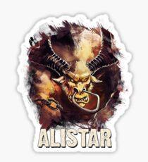 League of Legends ALISTAR Sticker