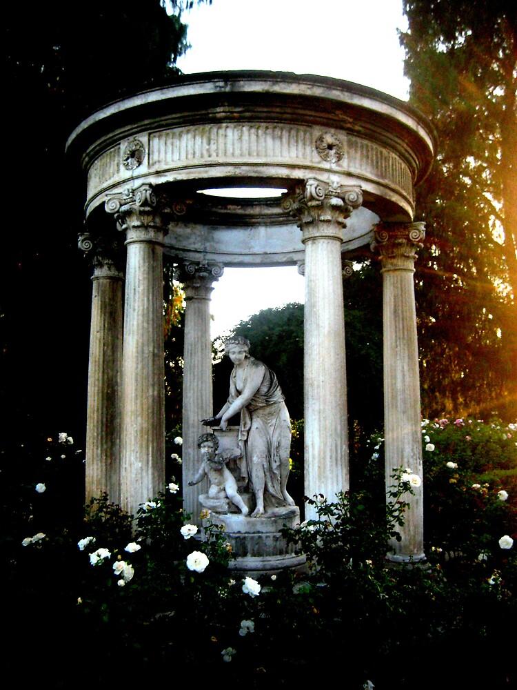 Garden Statue 2  by SamanthaJune