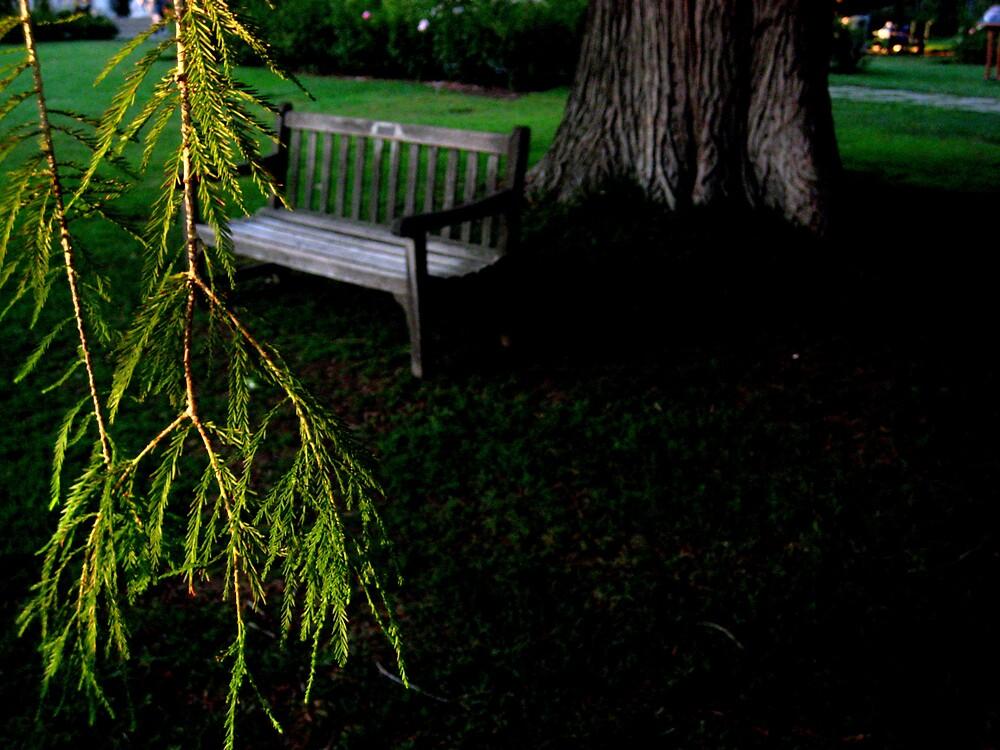Garden bench  by SamanthaJune