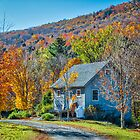Autumn Morning at the Mountain House by vivsworld
