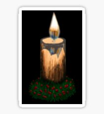 Christmas candle Sticker