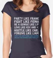 Party Like Frank Women's Fitted Scoop T-Shirt