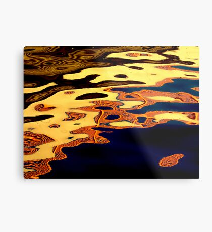 River faces Metal Print