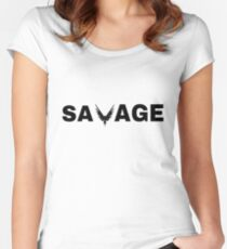 Savage - Logan Paul Women's Fitted Scoop T-Shirt