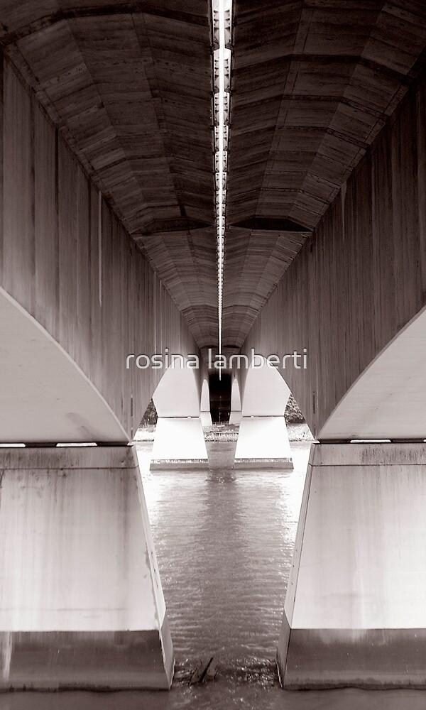 under the bridge - Captain cooks bridge by rosina lamberti