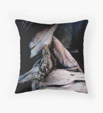 Gnarled Wood  Throw Pillow