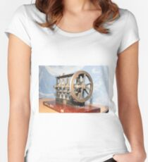 Metal gears Women's Fitted Scoop T-Shirt