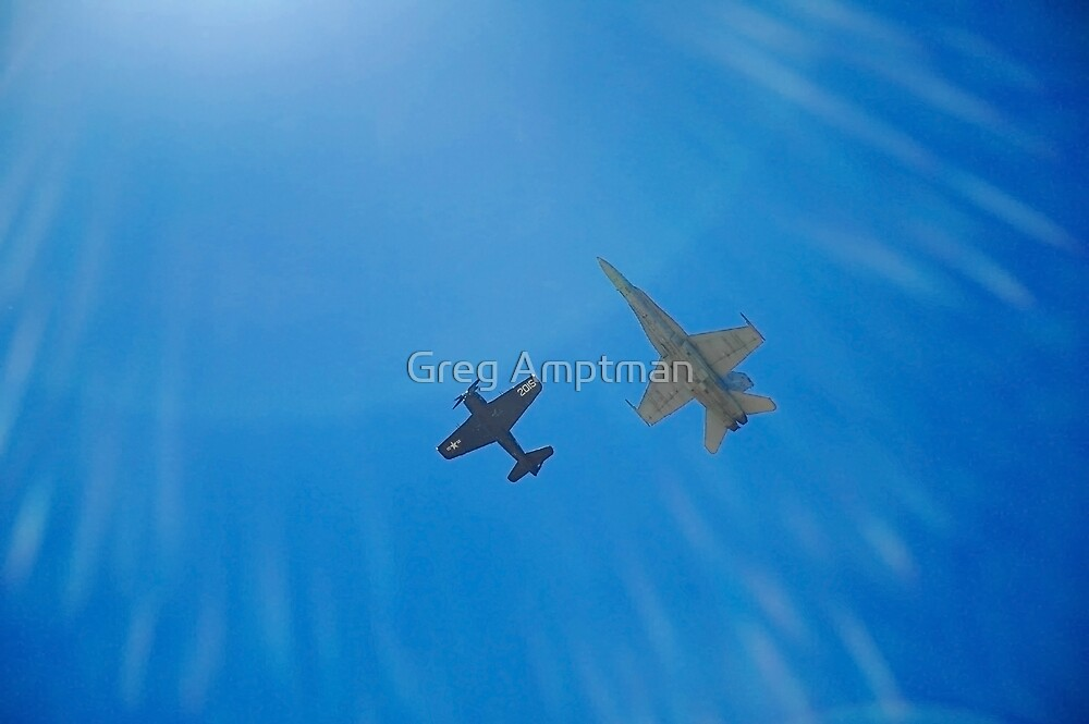Into the Wild Blue Yonder by Greg Amptman