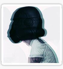 Rebel Scum (glitch version) Sticker