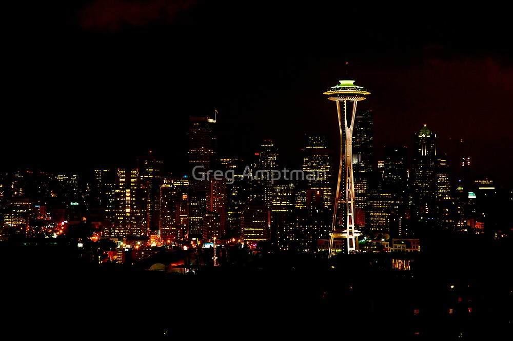 Seattle Lights by Greg Amptman