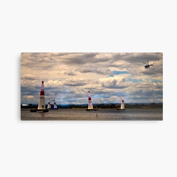 Red Bull II Metal Print