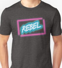 Neon Rebel sign T-Shirt