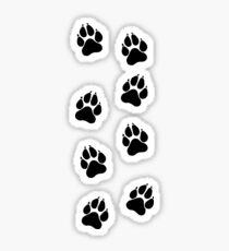 Simba's Paws Sticker