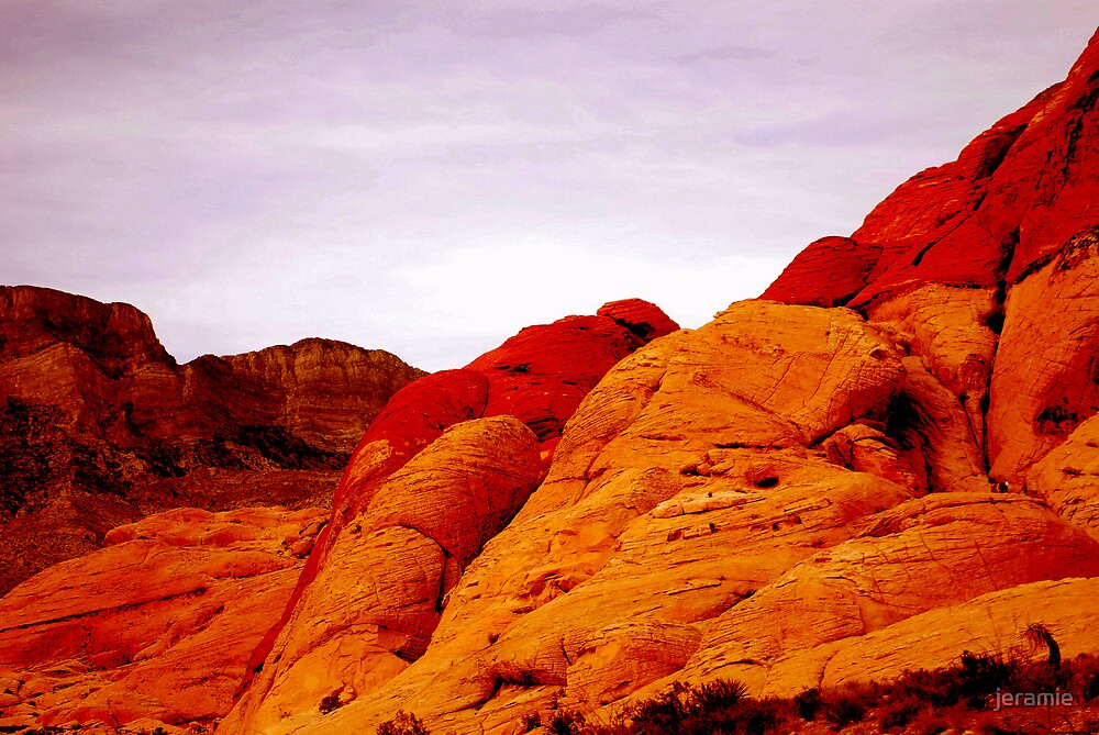 red rock by jeramie