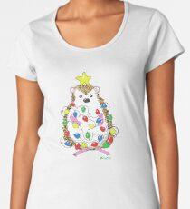 An Adorable Hedgehog Holiday Women's Premium T-Shirt