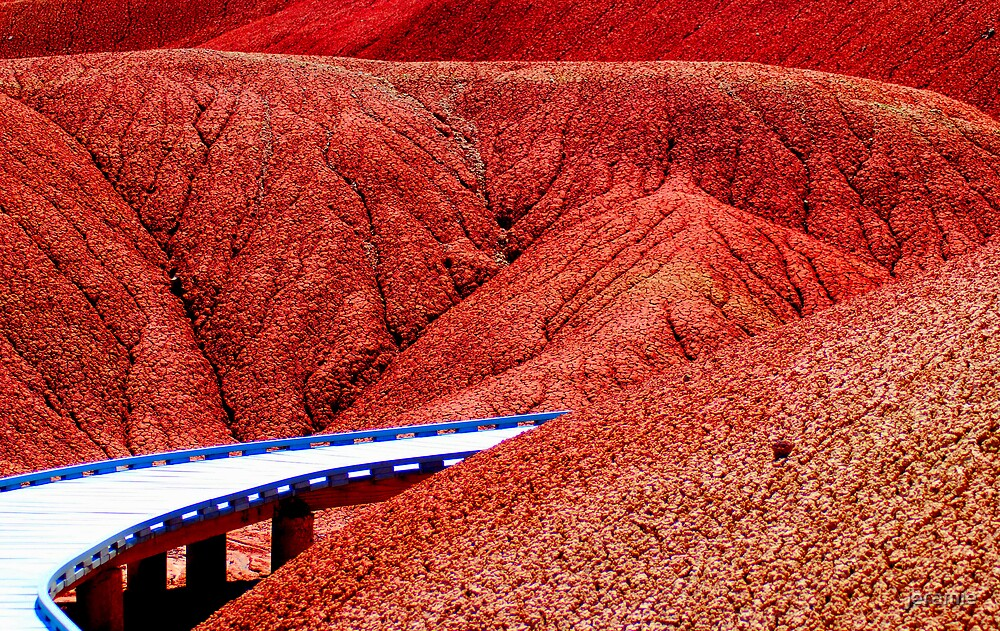 into the red! by jeramie