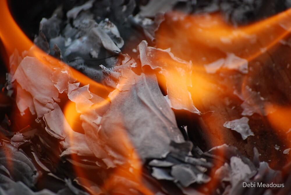"""""""horns of fire"""" by Debi Meadows"""