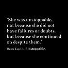 She was unstoppable - Beau Taplin by daddydj12