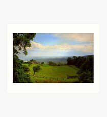 Cambewarra View ~ No 1 Art Print