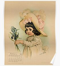 French Girl Maud Humphrey Poster