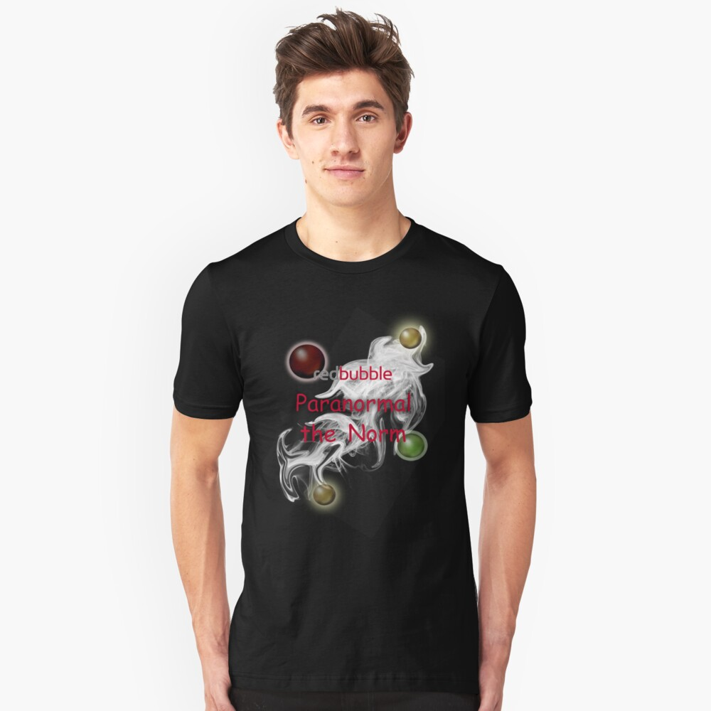 Redbubble Paranormal the Norm T Unisex T-Shirt Front