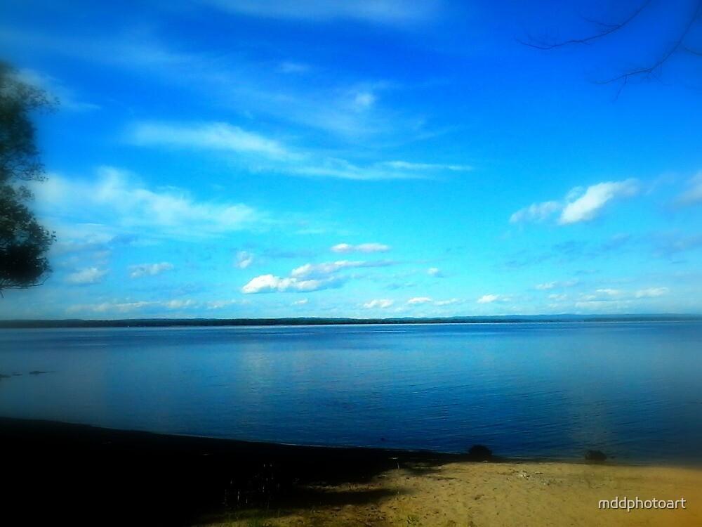 Peace at Beach by mddphotoart