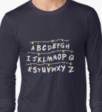 Stranger Things Code Camiseta de manga larga