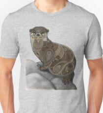 Camiseta ajustada Enredo de la nutria