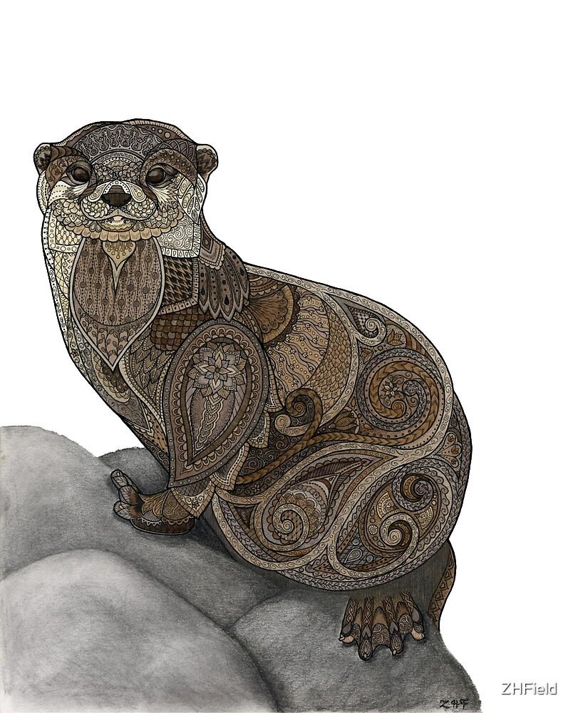 Otter Tangle by ZHField