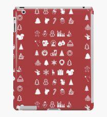 Red Icons Xmas Vinilo o funda para iPad