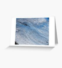 Glacial Ice Greeting Card