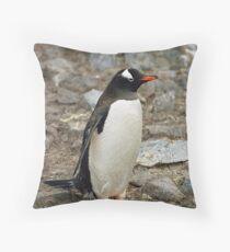 "Gentoo Penguin ""Pygoscelis papua"" #1 Throw Pillow"
