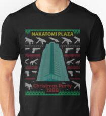 Nakatomi Plaza - Funny Ugly Christmas Sweater Unisex T-Shirt