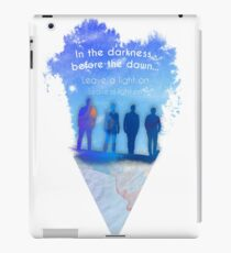 In the Darkness, before the dawn.... iPad Case/Skin