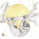 Sloth by artdamnit