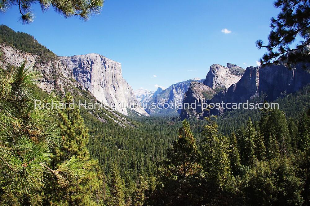 Yosemite by Richard Hanley www.scotland-postcards.com