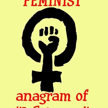FEMINIST by AdeBoz