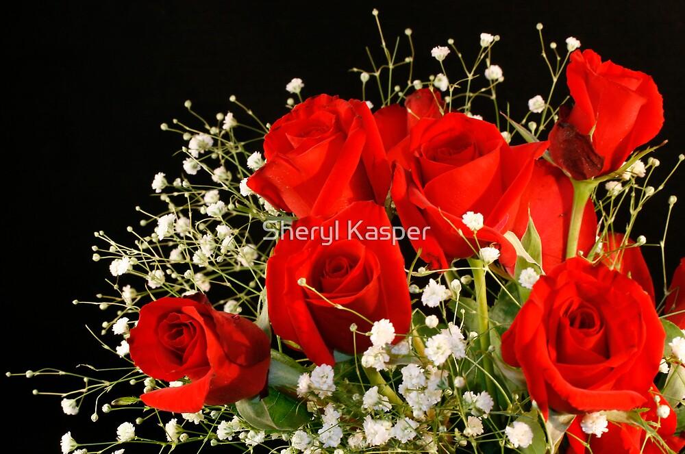 Red Roses by Sheryl Kasper