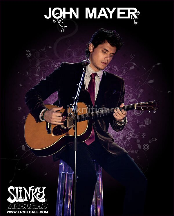 John Mayer AD by inknition