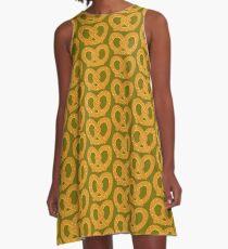 No Shame Pretzel Game A-Line Dress
