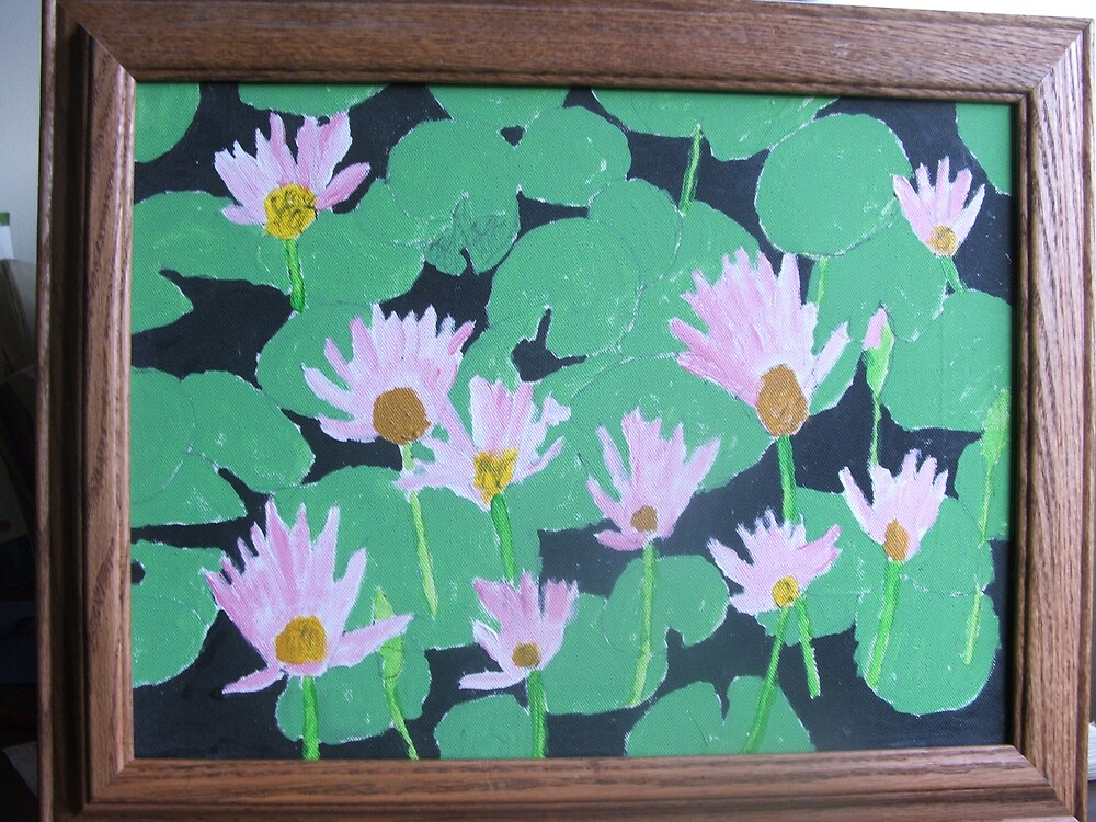 Water lillies by James Young